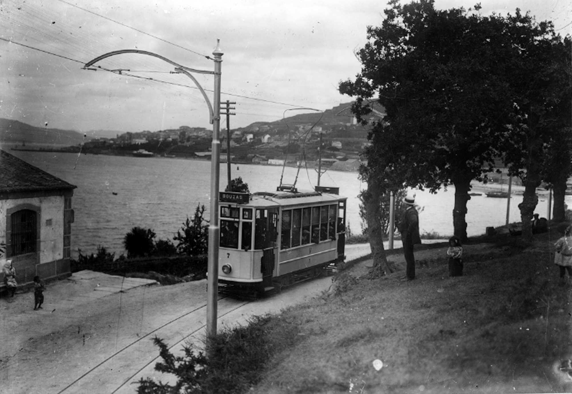 El Vigo que quizá nunca conociste Los tranvías, el primer transporte metropolitano