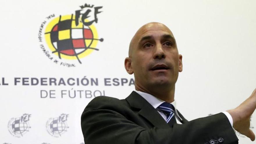 """Rubiales: """"Molina tiene una idea parecida a la nuestra"""""""