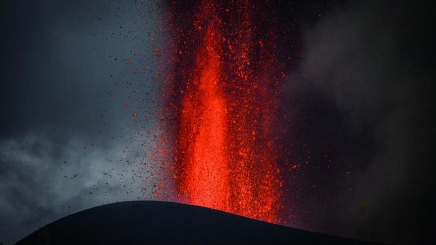Tajogaite, un nombre para el volcán de La Palma