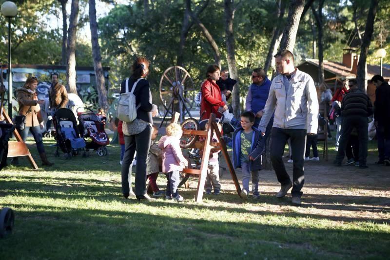 Marionetas en el Parque Grande