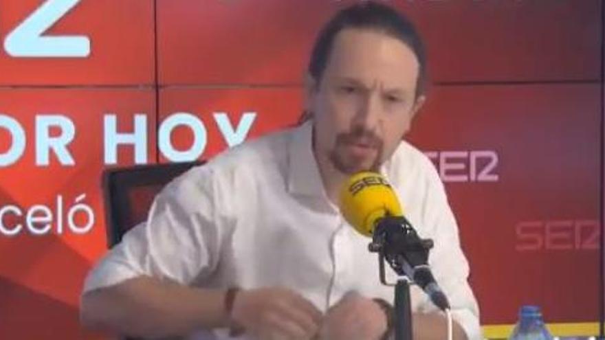 Iglesias abandona el debat de la Ser després que Vox posi en dubte les amenaces de mort