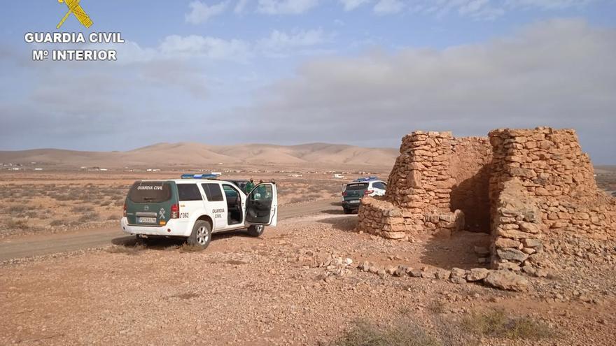 El Seprona impone 25 multas en su lucha contra la caza furtiva en Fuerteventura