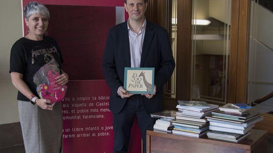 La Fundación Caja Castellón recogerá libros para la biblioteca de Castell de Cabres