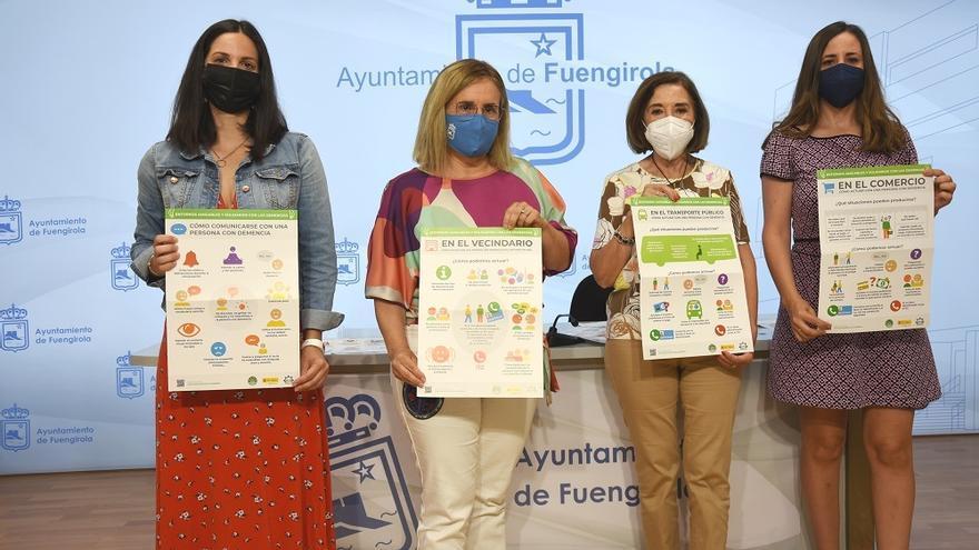 Fuengirola desarrolla un proyecto piloto para educar en el trato con personas con demencia