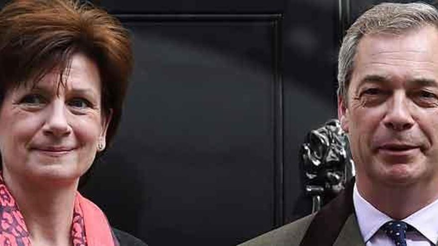 La nueva líder del UKIP dimite 18 días después de ser elegida