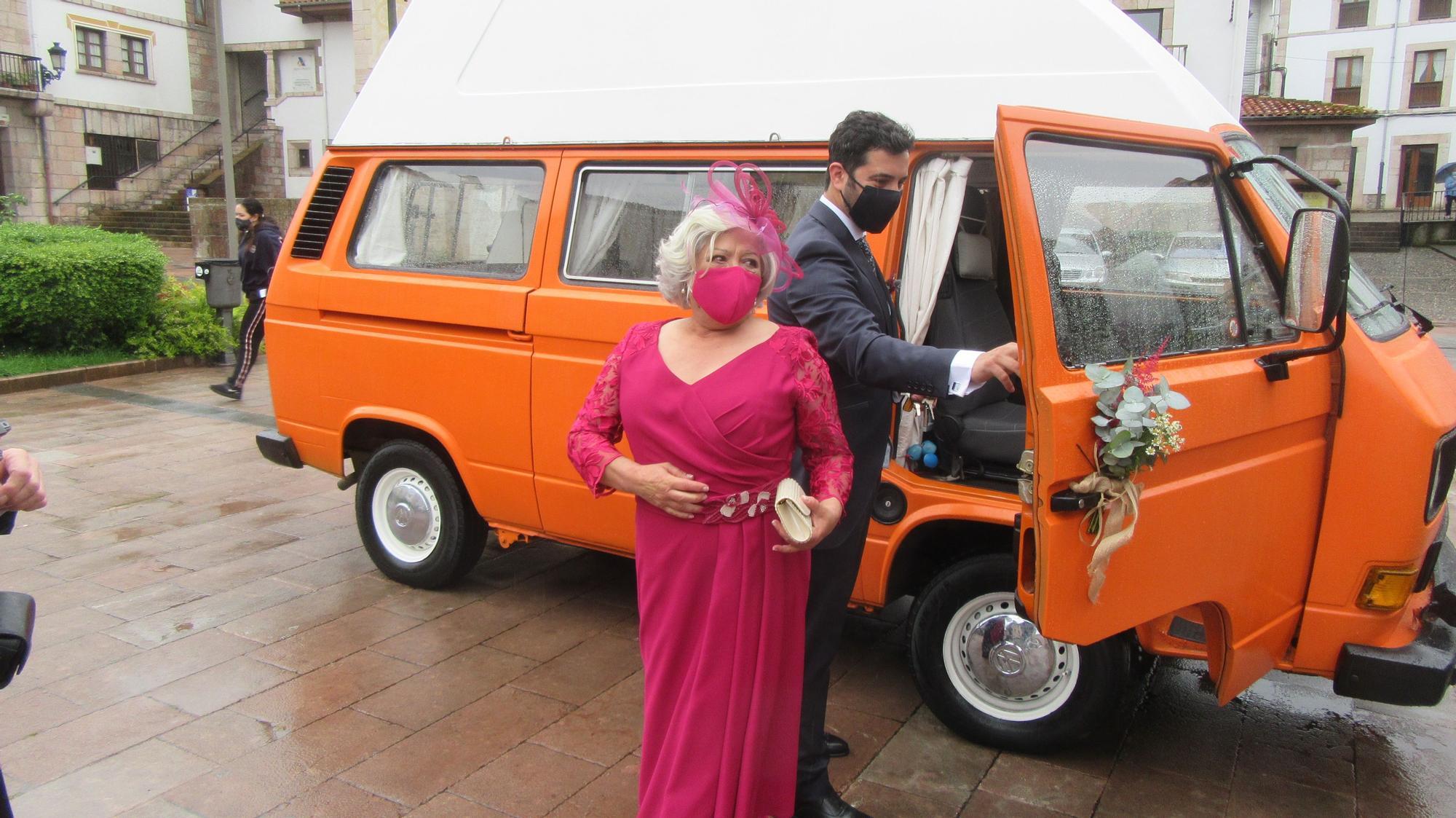 Las bodas que vuelven tras el estado de alarma: la primera del año en Cangas de Onís