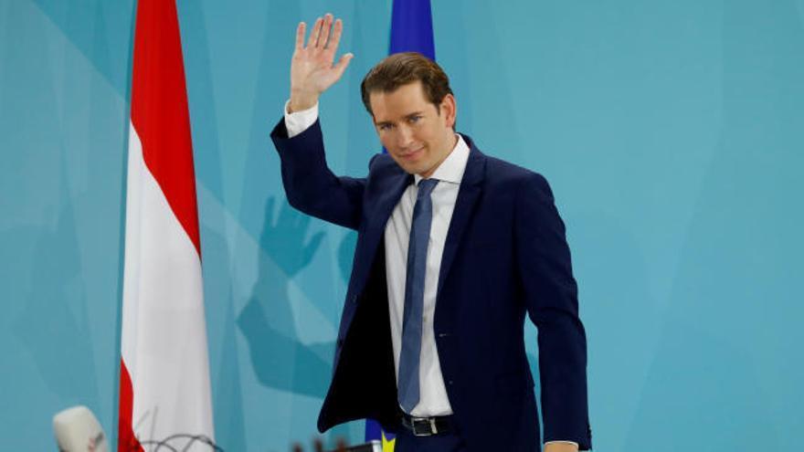 El conservador Kurz se impone con claridad en las elecciones de Austria