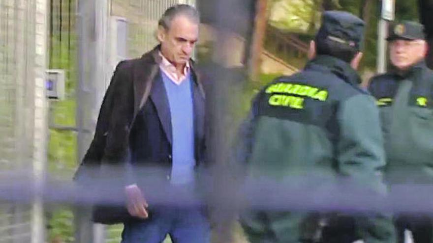 Conde presenta como aval para salir de prisión cuatro fincas en Fuerteventura