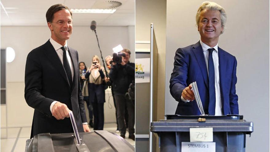 Rutte llama a frenar el populismo de Wilders