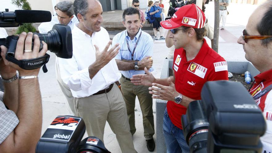 """Camps: """"Sería excepcional retomar la F1 en València"""""""