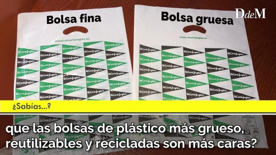 ¿Sabías... que las bolsas de plástico de un solo uso ya están prohibidas?