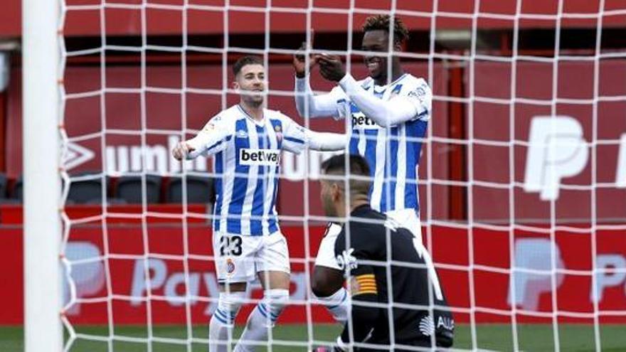 Todos los goles de la jornada 25 de Segunda: el Espanyol aprieta la lucha por la liga