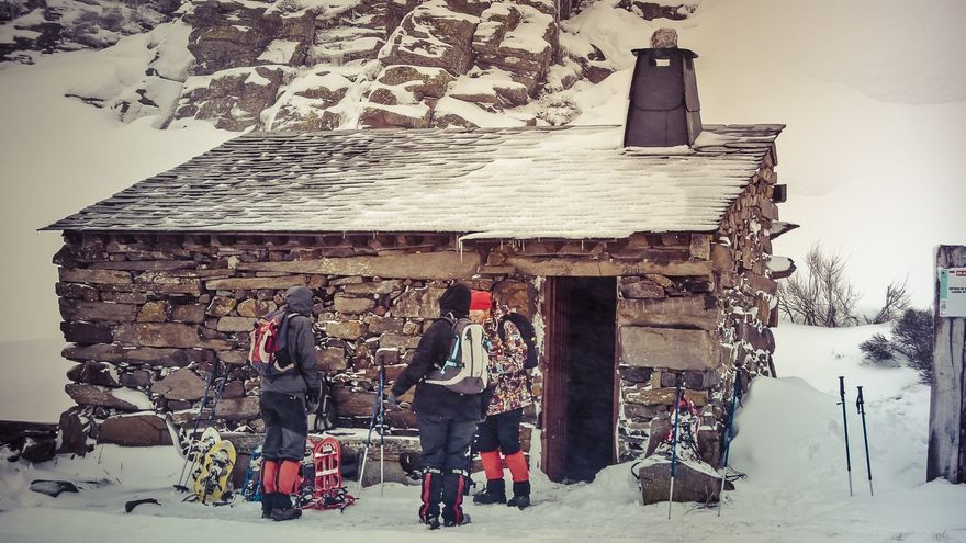 Zamora rutas con raquetas de nieve