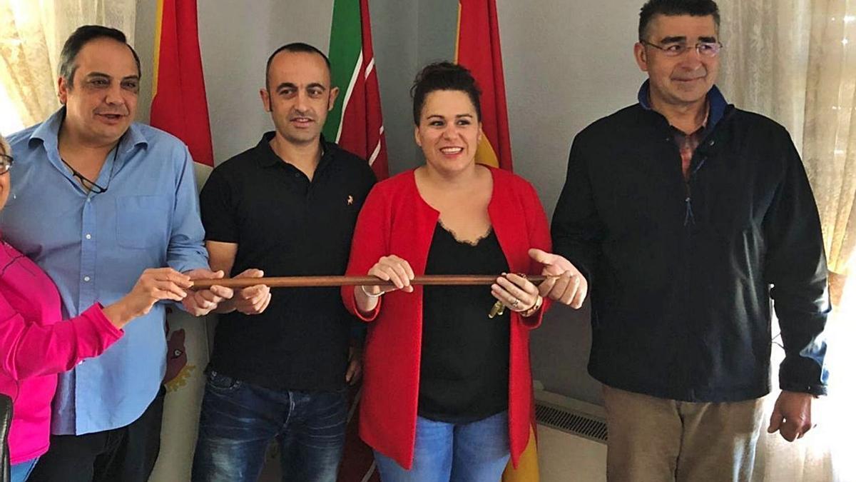 El actual equipo de Gobierno del Ayuntamiento de San Vitero. | Ch. S.