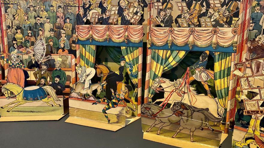 El Museo acoge una muestra de libros móviles y desplegables