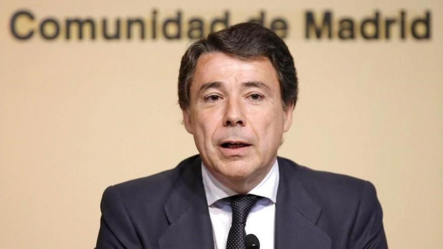 La Audiencia Nacional confirma la prisión provisional de Ignacio González