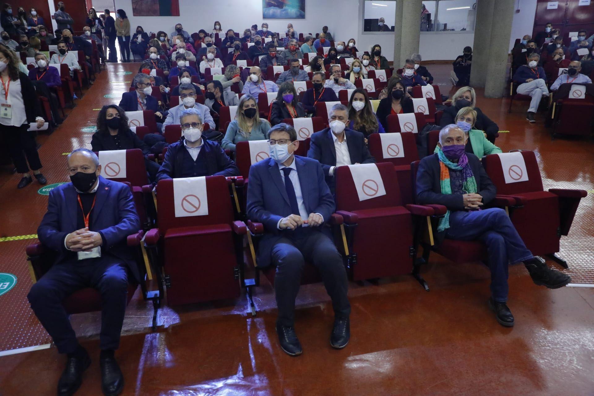 Imágenes del congreso ordinario UGT