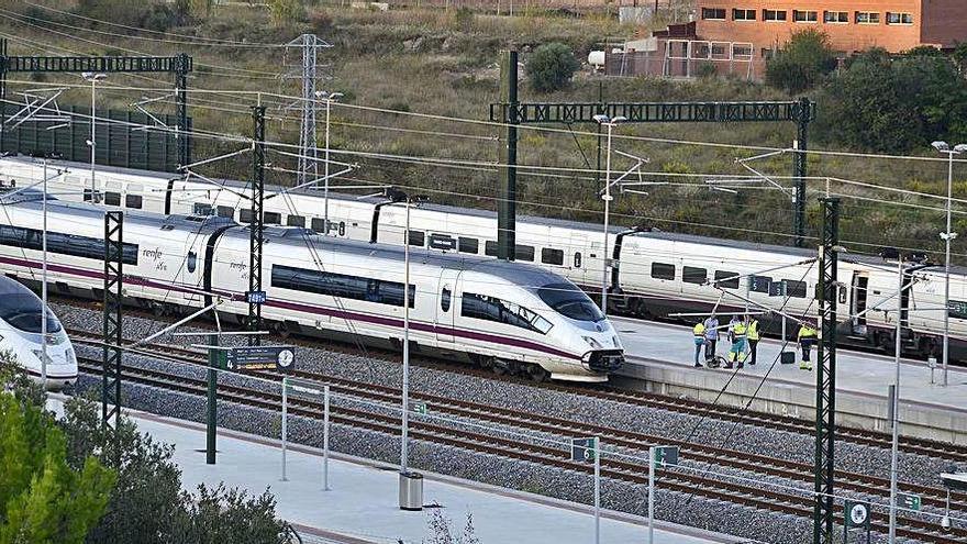 La demanda del TAV a Figueres cau un 75% respecte a abans de la COVID