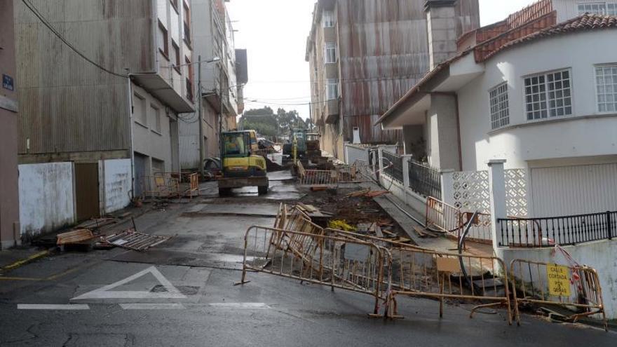 La calle Cantabria, tan patas arriba como pronosticaba el alcalde
