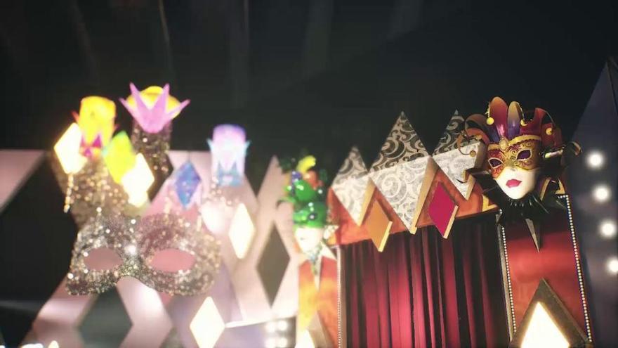 Presentación del escenario del Carnaval 2021 de Santa Cruz de Tenerife