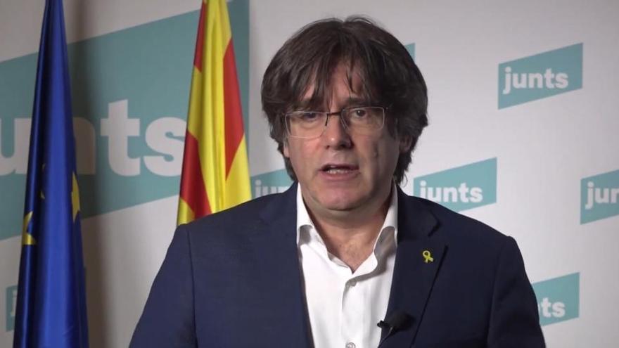Puigdemont será el cabeza de lista de JxCat para el 14F