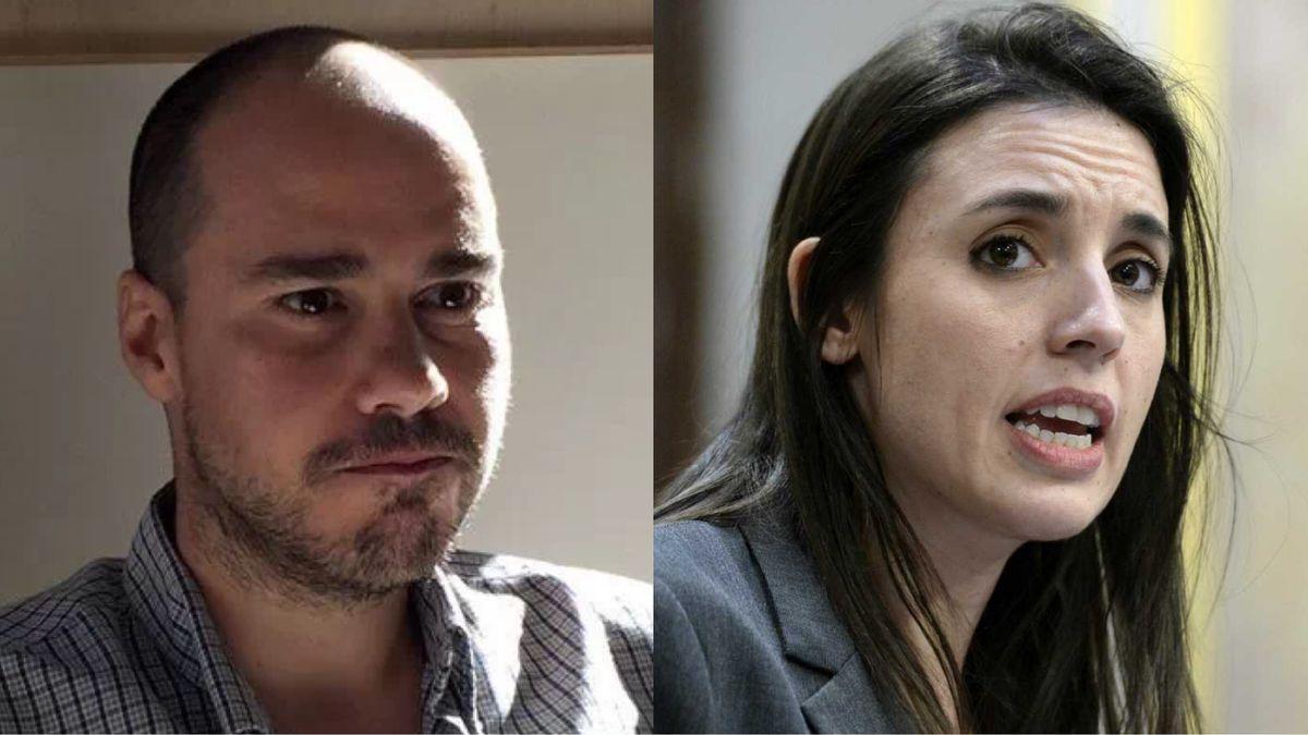 Antonio Pampliega e Irene Montero.
