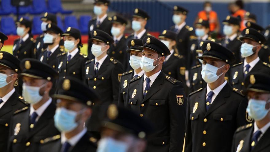 205 policías nacionales juran su cargo en Málaga