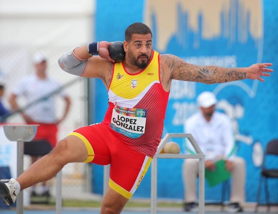 Kim López, atletismo paralímpico