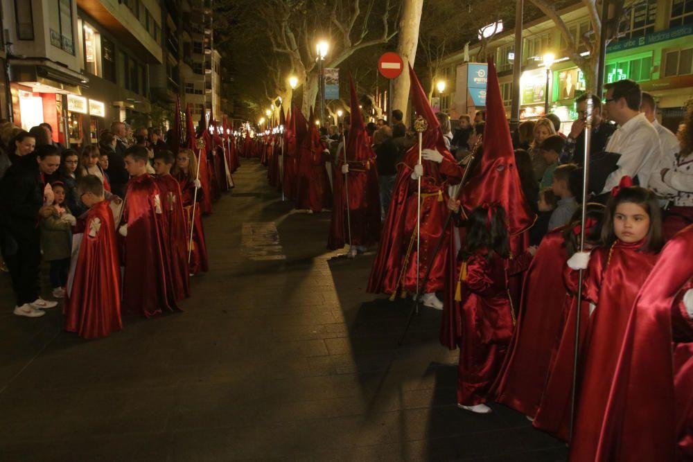 Liberación de la presa indultada en la Semana Santa de Gandia