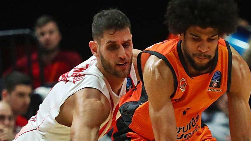 Alarma en el Valencia Basket por los positivos del Estrella Roja