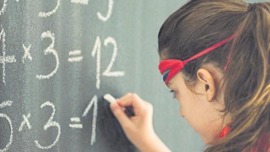 Los alumnos de primaria se estancan en matemáticas