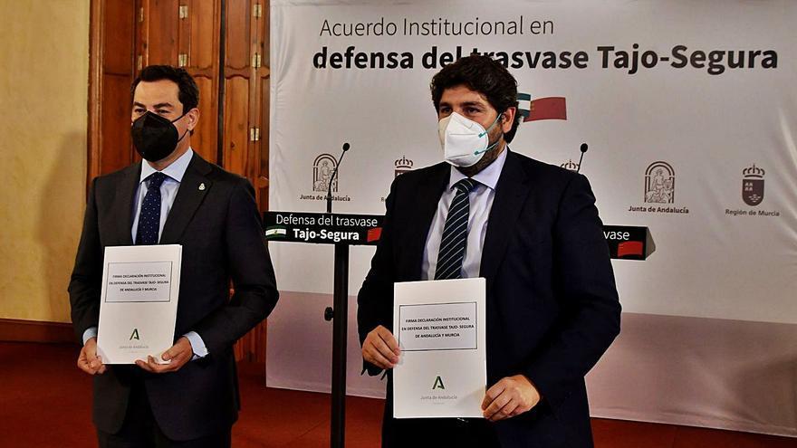 Andalucía y Murcia, en defensa del trasvase Tajo-Segura