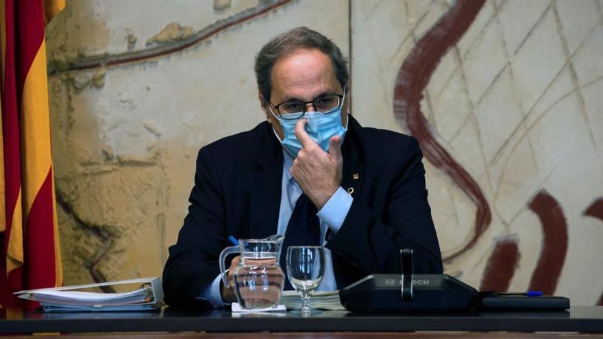 """Torra exige al Gobierno que cese las """"hostilidades"""" si quiere retomar el diálogo"""