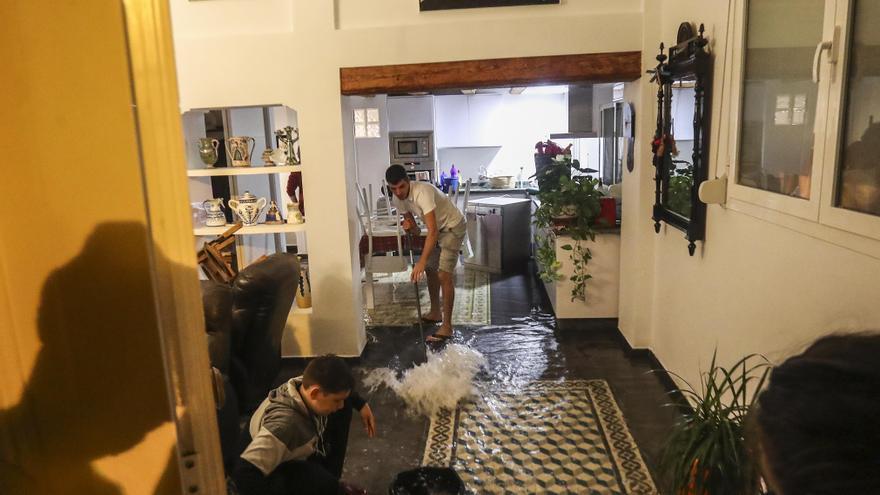 Inundación absoluta en El Cabanyal