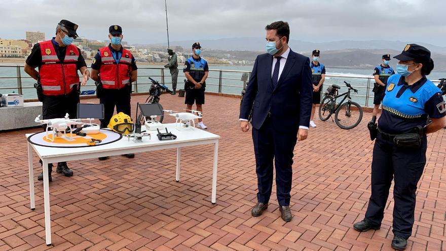 Las Palmas de Gran Canaria vigilará la seguridad en las playas con drones