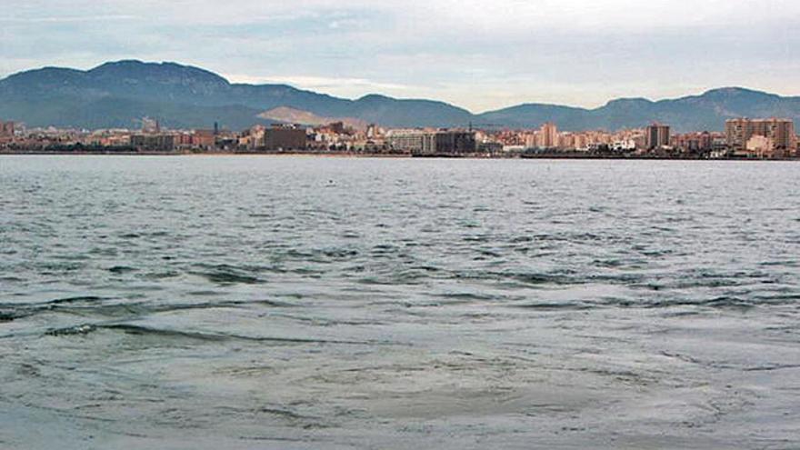 Und das Abwasser floss weiter in die Bucht von Palma