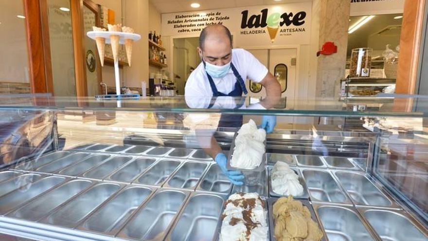 Nueva heladería del chef Borja Marrero en Tejeda
