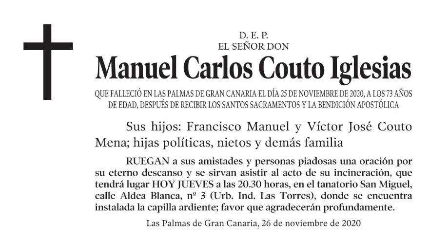 Manuel Carlos Couto Iglesias