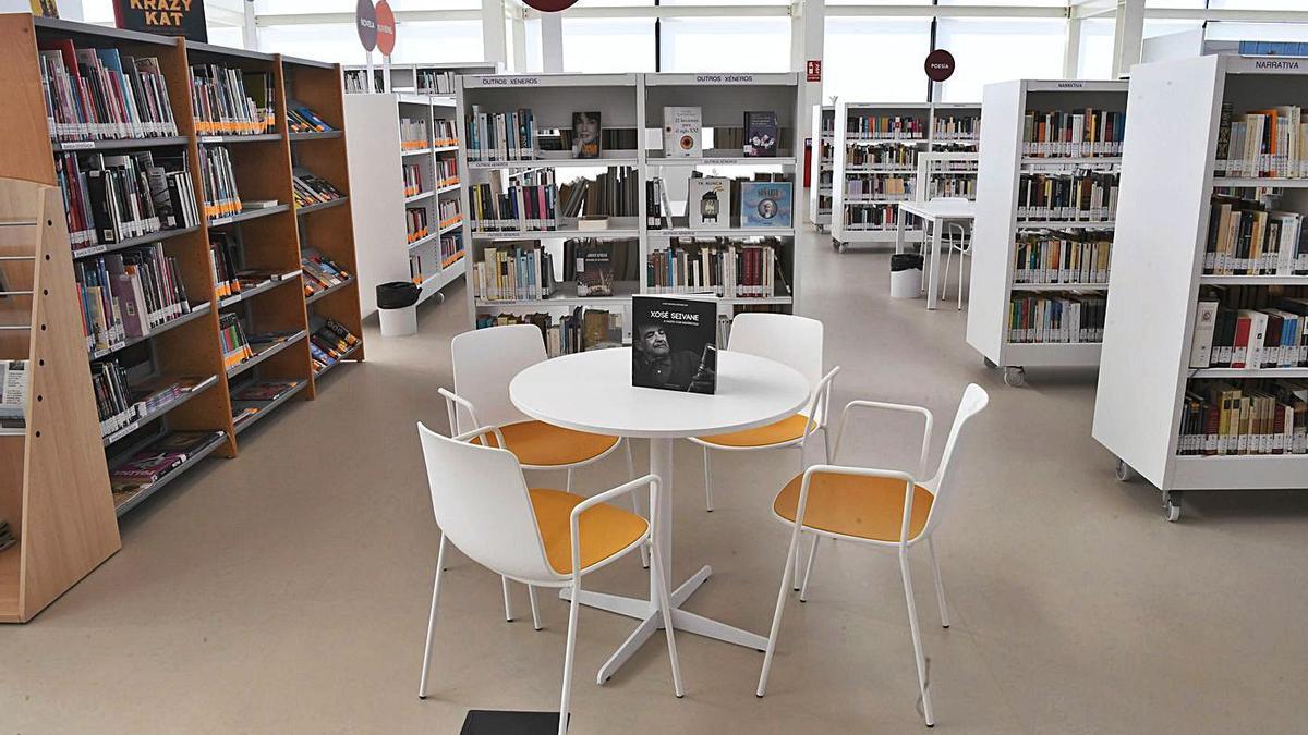 La nueva biblioteca cambresa, el día de su inauguración, el pasado mes de septiembre. |   // CARLOS PARDELLAS