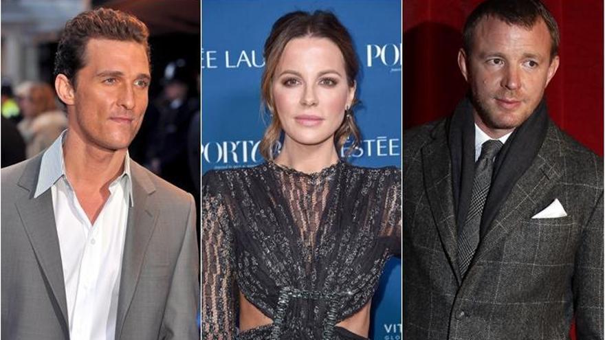 Matthew McConaughey y Kate Beckinsale protagonizarán lo nuevo de Guy Ritchie, 'Toff Guys'