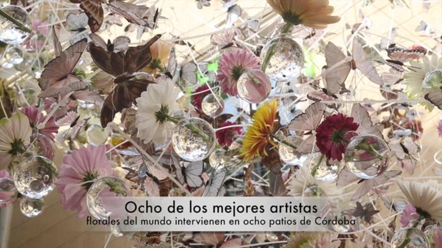 Córdoba, capital mundial del arte floral contemporáneo