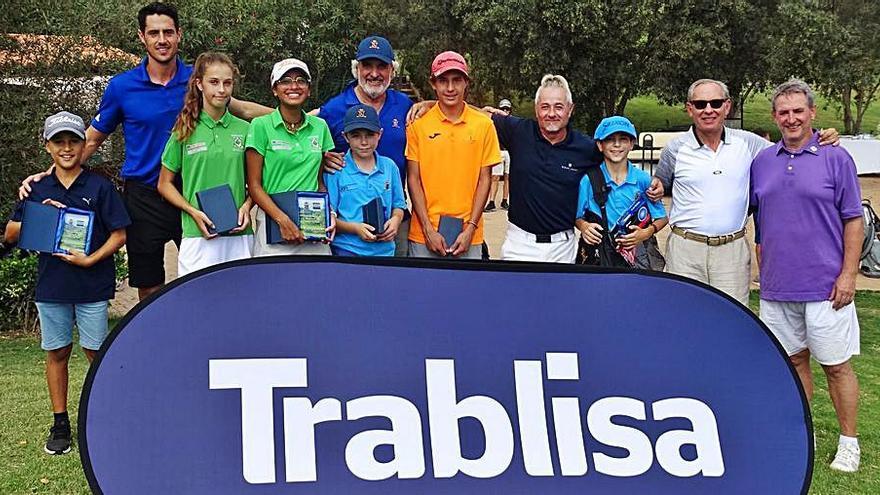 Pulido y Camarillo vuelven a alzarse con el Balear de golf