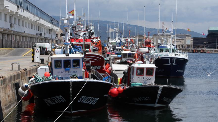 La Navidad más insólita para la pesca gallega