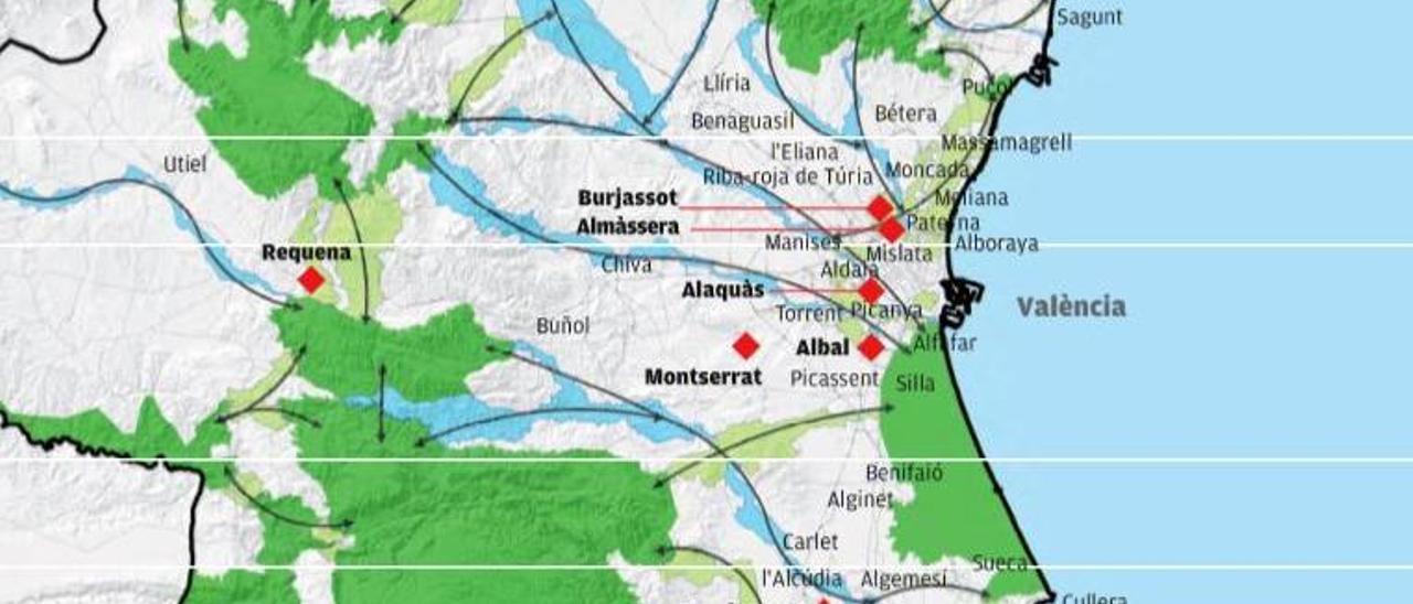 Un total de 26 municipios han identificado su esqueleto verde en el territorio