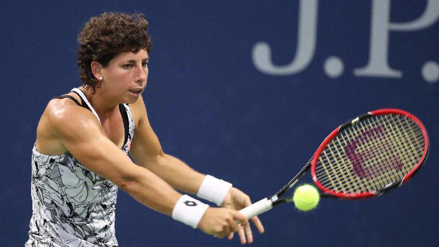 Carla pasa a segunda ronda del US Open y se exige más