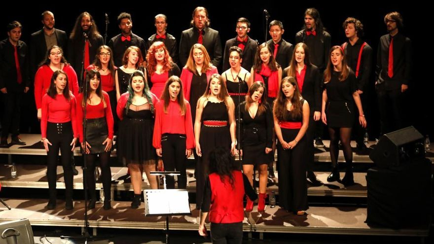 El Coro Joven de Gijón ofrecerá un concierto el 1 de junio en el teatro Palacio Valdés