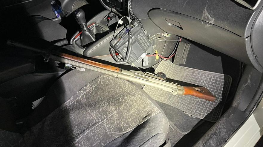 Investigan un tiroteo en Alcantarilla con un fusil de asalto del Ejército