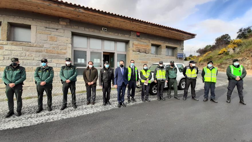 Más de 4.000 personas han pasado por los controles fronterizos en Zamora