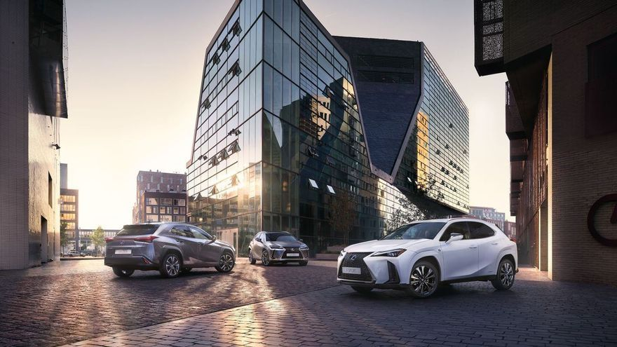 Nueva gama UX 250H de la marca Premium Lexus