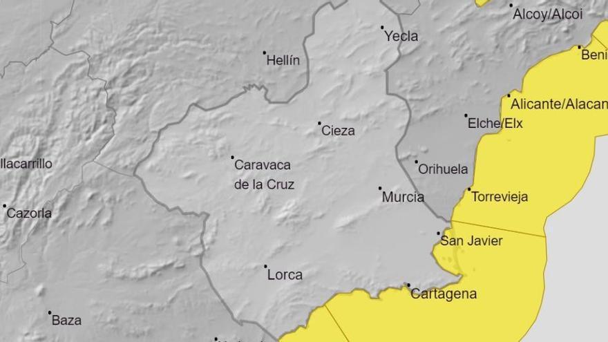 La Región estará mañana en alerta amarilla por fenómenos costeros